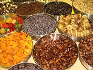 Fruits secs assortiment