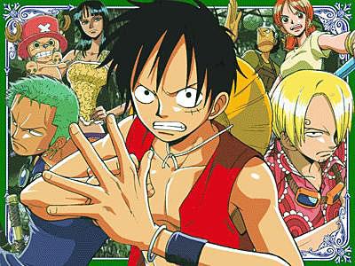 Luffy heros de One Piece