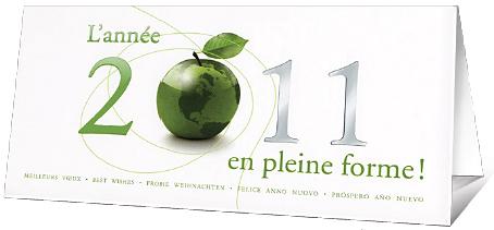 carte voeux Fondation de Abbe Pierre